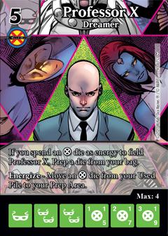 Dice Masters - Dark Phoenix Saga - Professor X Dreamer
