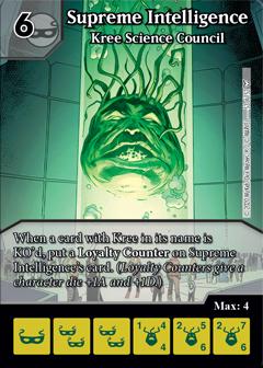 Dice Masters - Dark Phoenix Saga - Supreme Intelligence Kree Science Council