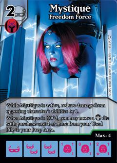 Dice Masters - Dark Phoenix Saga - Mystique Freedom Force