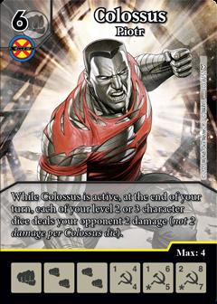 Dice Master - Dark Phoenix Saga - Colossus Piotr