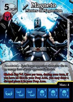 Dice Masters - Dark Phoenix Saga - Magneto Master of Magnetism
