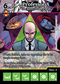 Dice Masters - Dark Phoenix Saga - Professor X Uncanny Leadership