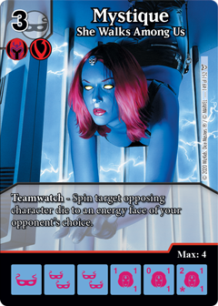 Dice Masters - Dark Phoenix Saga - Mystique She Walks Among Us