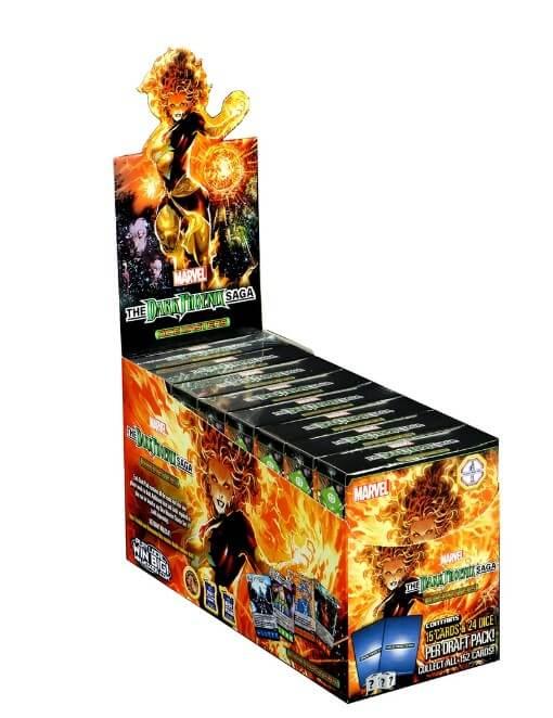 Marvel Dice Masters Dark Phoenix Saga Countertop Display Spoiler