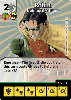 DC Dice Masters Superman Kryptonite Crisis - Robin Training the TitansDC Dice Masters Superman Kryptonite Crisis - Robin Training the Titans