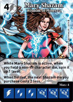 DC Dice Masters - Superman Kryptonite Crisis - Mary Shazam Wisdom of Minerva