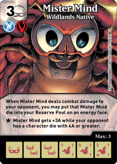 DC Dice Masters - Superman Kryptonite Crisis - Mister Mind Wildlands Native