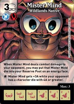 DC Dice Masters - Superman Kryptonite Crisis - Mister Mind Wildlands Native