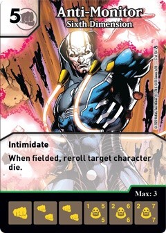 DC Dice Masters - Superman Kryptonite Crisis - Anti-Monitor Sixth Dimension