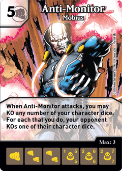 DC Dice Masters - Superman Kryptonite Crisis - Anti-Monitor Mobius