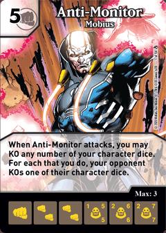 DC Dice Masters - Superman Kryptonite Crisis - Anti-Monitor Mobius