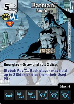 DC Dice Masters - Superman Kryptonite Crisis - Batman Rooftops