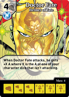 DC Dice Masters - Superman Kryptonite Crisis - Doctor Fate Helmet of Fate