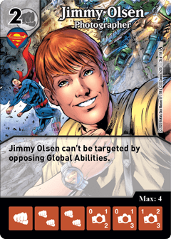 DC Dice Masters - Superman Kryptonite Crisis - Jimmy Olsen Photographer