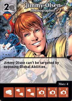 DC Dice Masters - Superman Kryptonite Crisis - Jimmy Olsen Photographer