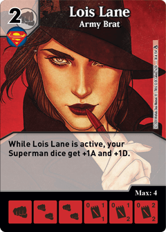 DC Dice Masters - Superman Kryptonite Crisis - Lois Lane Army Brat