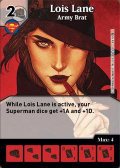 DC Dice Masters - Superman Kryptonite Crisis - Lois Lane Army Brat