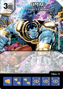 DC Dice Masters - Superman Kryptonite Crisis - OMAC Project Cadmus