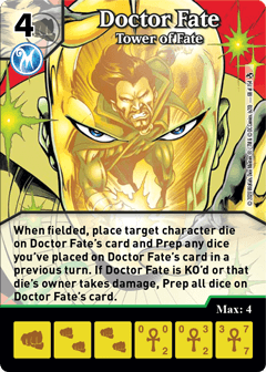DC Dice Masters - Superman Kryptonite Crisis - Doctor Fate Tower of Fate