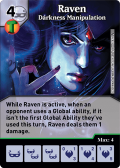 DC Dice Masters - Superman Kryptonite Crisis - Raven Darkness Manipulation