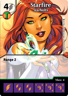 DC Dice Masters - Superman Kryptonite Crisis - Starfire Starbolts