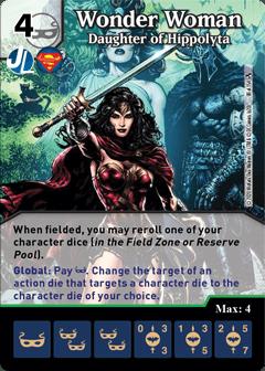 DC Dice Masters - Superman Kryptonite Crisis - Wonder Woman Daughter of Hippolyta