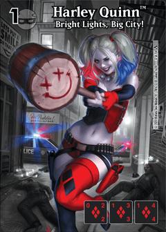 DC Dice Masters - Superman Kryptonite Crisis - Harley Quinn Bright Lights, Big City! Full Art