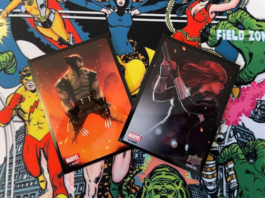 Upper Deck Marvel Comics Card Sleeves